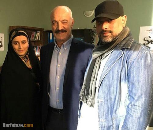 سوابق هنری فهیمه مومنی در سریال ترور خاموش و افرا