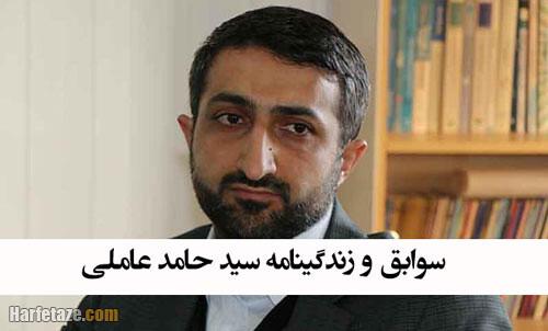 بیوگرافی سید حامد عاملی استاندار اردبیل +عکس و سوابق شخصی و کاری
