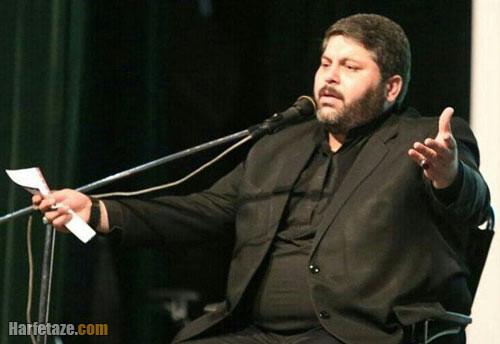 فیلم تصادف حاج حسن جمالی مداح