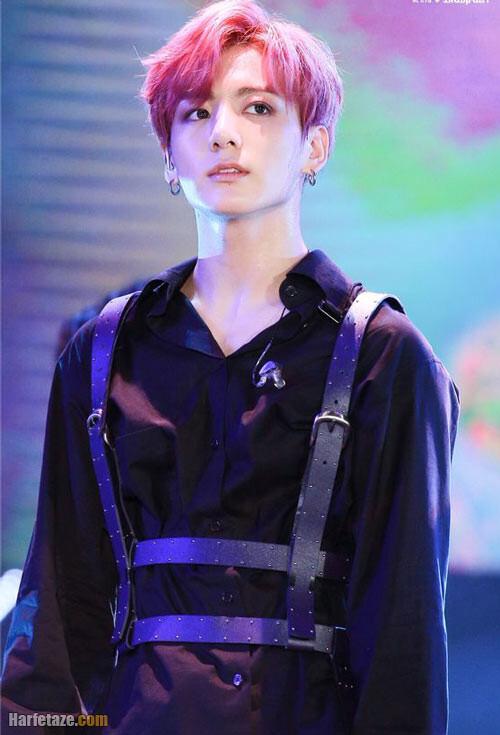 عکس بیوگرافی جانگ کوک jungkook از اعضای گروه بی تی اس (BTS)