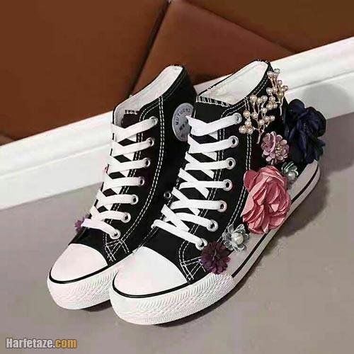 کفش اسپرت فانتزی دخترانه 1401
