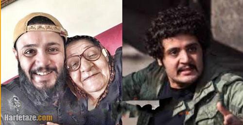 مهران رنجبر بازیگر آوای باران به سوگ مادرش نشست