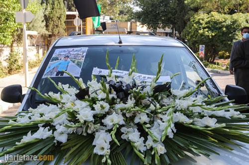 عکس و فیلم / مراسم تشییع و خاکسپاری پیکر علی لندی در ایذه را ببینید