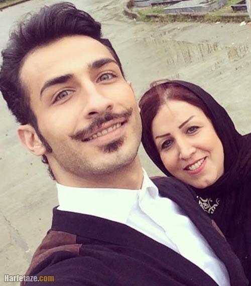 عکس جدید مهران ضیغمی و مادرش