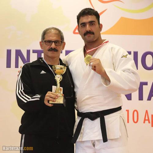 محمدرضا خیرالله زاده در مسابقات المپیک 2020 توکیو