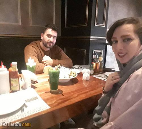 محمدرضا خیرالله زاده و همسرش
