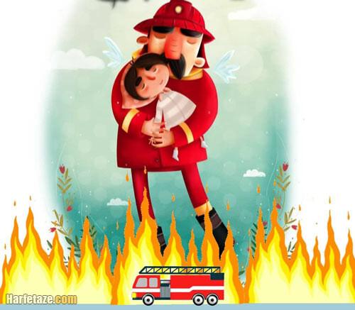 نقاشی آتشنشان برای ابتدایی