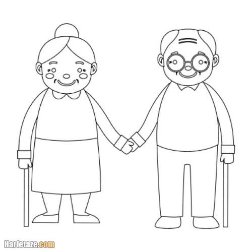 کاربرگ روز سالمندان برای پایه ابتدایی