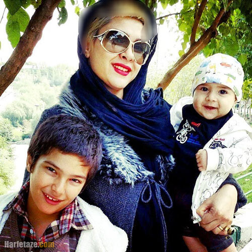 عکس های جدید نازآفرین کاظمی و فرزندانش