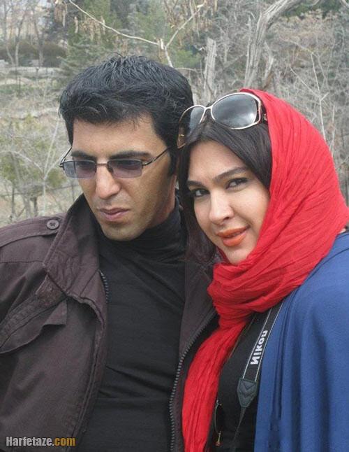 عکس های جدید نازآفرین کاظمی و همسرش