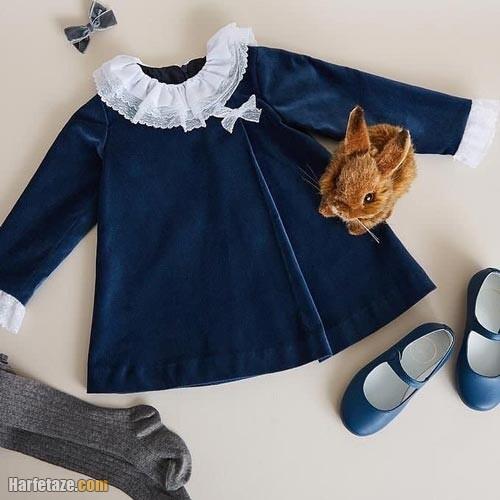 پیراهن پاییزه دخترانه 1401
