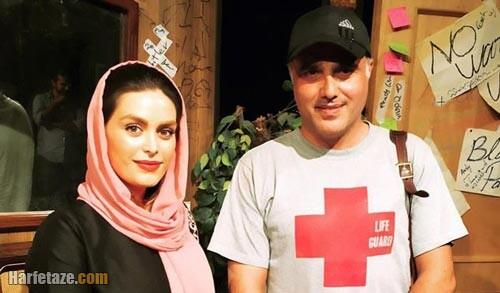 سعید داخ و همسرش