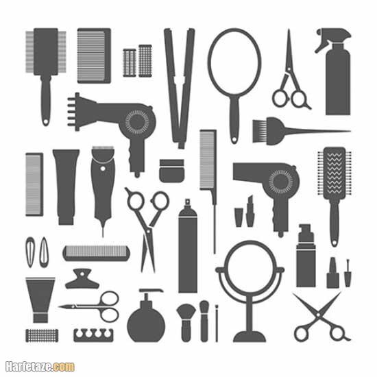 سالن زیبایی عروس - ابزار های آرایشگاه زنانه