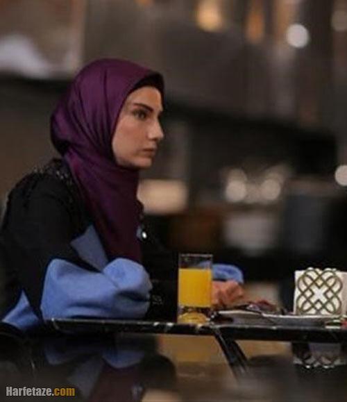 محیا دهقانی نقش نگار در سریال هم سایه