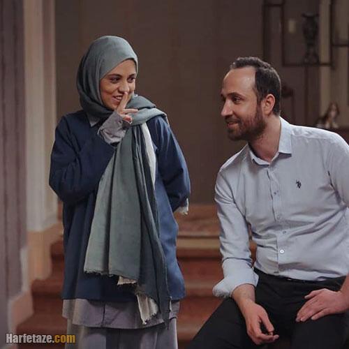 امیراحمد قزوینی بازیگر نقش حافظ در سریال همسایه