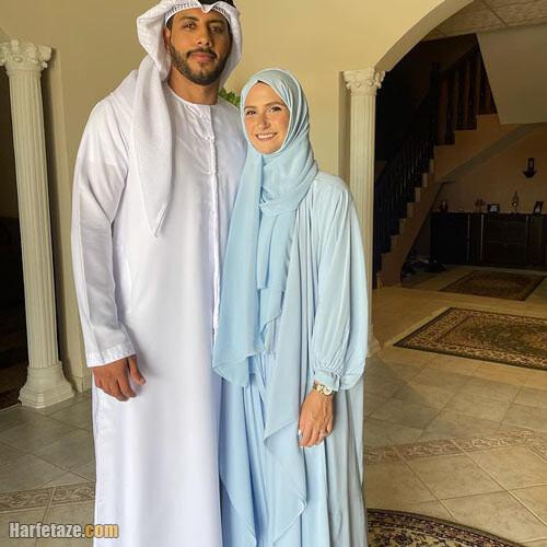 عکس همسر زهرا لاری شاهزاده یخی