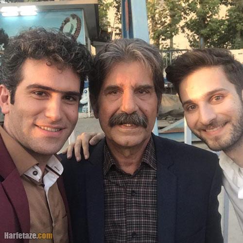 عکس های هژیر مهرآوران و پدرش عزت الله مهرآوران
