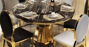 مدل میز ناهارخوری فلزی ترند ویژه سال ۲۰۲۲ – ۱۴۰۱