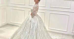 مدل لباس عروس پفی ۲۰۲۲ پرنسسی بسیار شیک و لاکچری