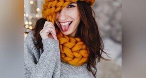 مدل کلاه و شال گردن دخترانه شیک ۲۰۲۲ در طرح و رنگ های زیبا