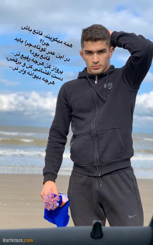 بیوگرافی امیرمحمد یزدانی کشتی گیر آزادکار + عکس و سوابق ورزشی