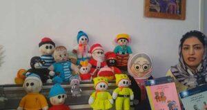 چگونه عروسک بافی با ماشین بافندگی را فرا بگیریم؟