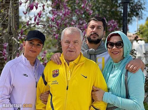 رندگینامه لادن پروین دختر علی پروین