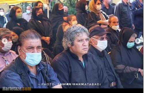 عکس و فیلم خاکسپاری فتحعلی اویسی