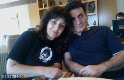 محمد بنا و همسرش