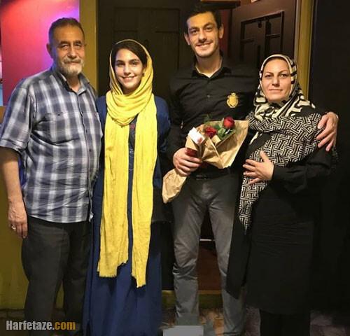 عکس خانوادگی محمد شعبانپور بازیگر و مجری سلام تهران
