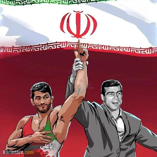 عکس پروفایل قهرمانی حسن یزدانی با متن تبریک + عکس نوشته و استوری