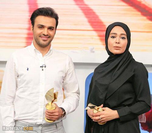 عکس و بیوگرافی سامان صفاری و سانیا سالاری بازیگران نقش امیر و ارغوان در سریال دلدادگان