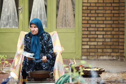 عکس و بیوگرافی فریده سپاه منصور در نقش مهربان در سریال خوشنام
