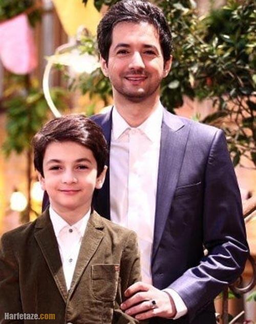 عکس جدید نجم الدین شریعتی و پسرش