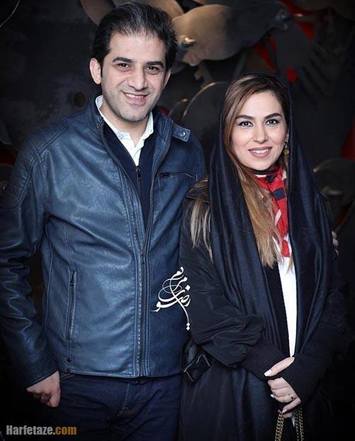 تینا پاکروان و همسرش